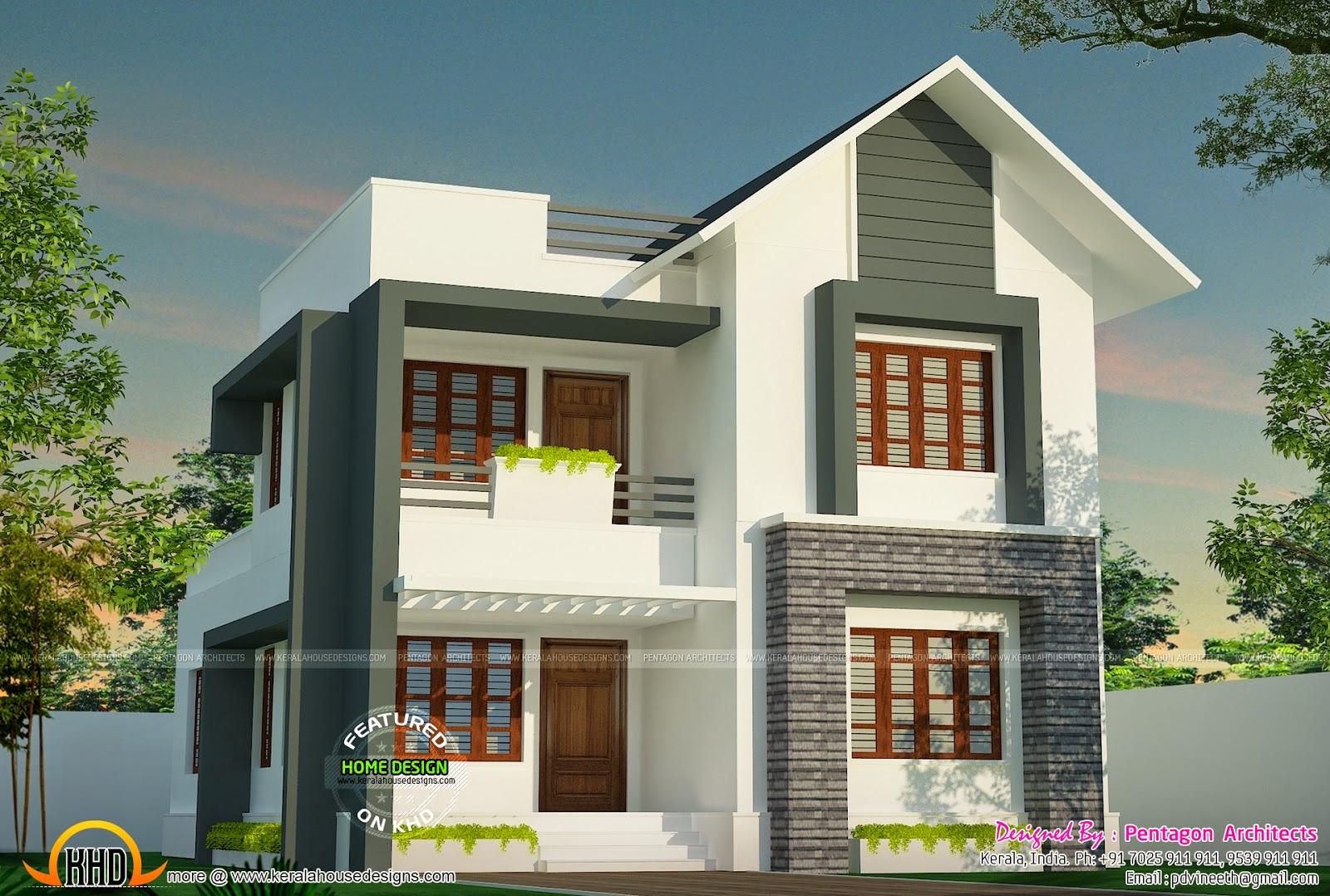 Pentagon house design - House design
