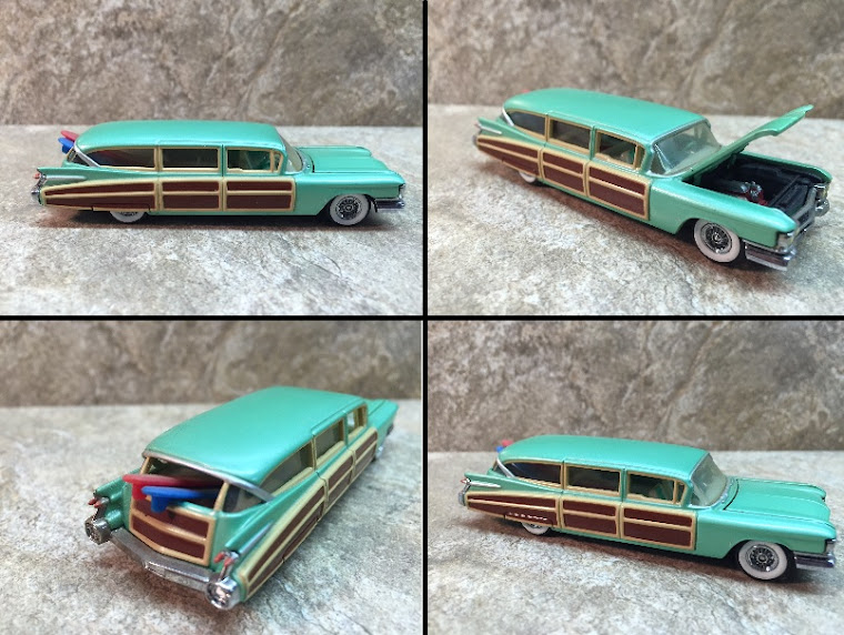 1959 Cadillac Surfin' Hearse, 1:32nd Scale ~