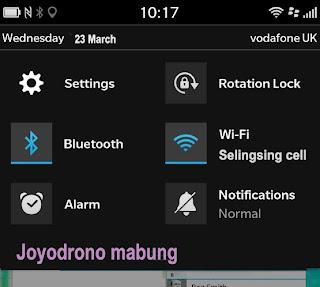 Tip cara menggunakan Blackberry Z10-8