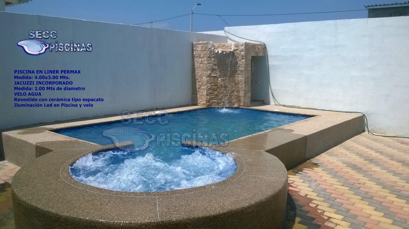 Secc piscinas piscinas con jacuzzi incorporado for Precio de piscinas de cemento