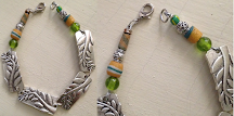 """Nyamanda """"Until There is Peace in Africa"""" human rights project 7.5 inch Artisan Bracelet $29.99 USD"""