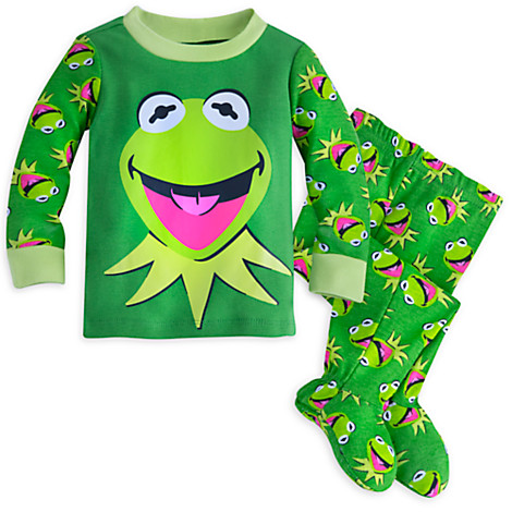 Build your Bears Wardrobe Green Frog PJ's and Slippers teddy Bear clothes fit build a bear factory. Sold by Ami Ventures Inc. $ $ Ty and Disney via Walgreens Ty Beanie Baby - Disney Christmas Holiday Kermit Walgreens Exclusives.