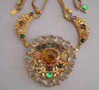 Czech style necklace