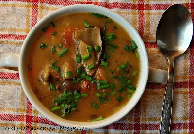 127. Jesienna zupa grzybowa