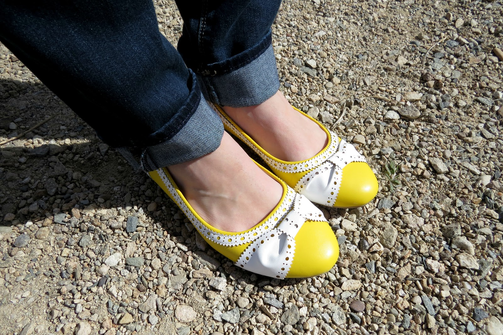 yellow ribbon flats