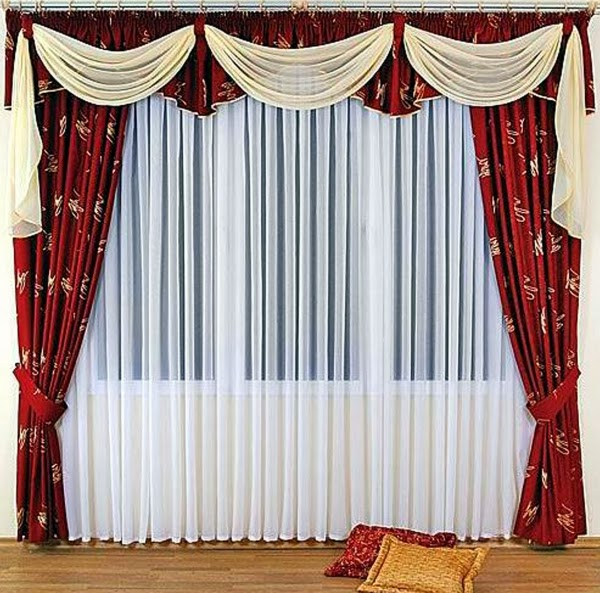 Curtains For The Living Room With Horizontal And Vertical .