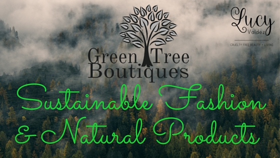 blog post title image for green tree boutiques sustainable fashion and natural products