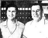 Juan Domingo Peron y Fernando Solanas