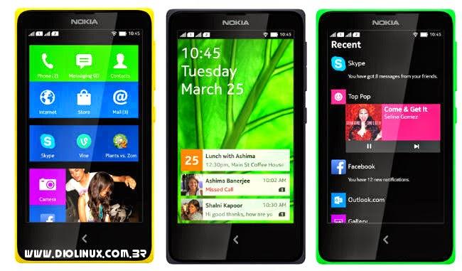 Nokia X2 com Android