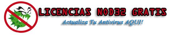 Seriales Nod32-Serial Nod32 Hasta el 2018 Gratis