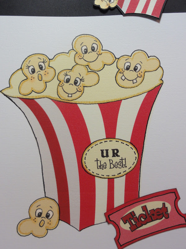 The Cricut Bug Movie Night Gift Bag