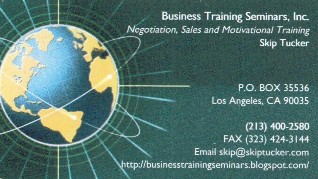 Business Training Seminars