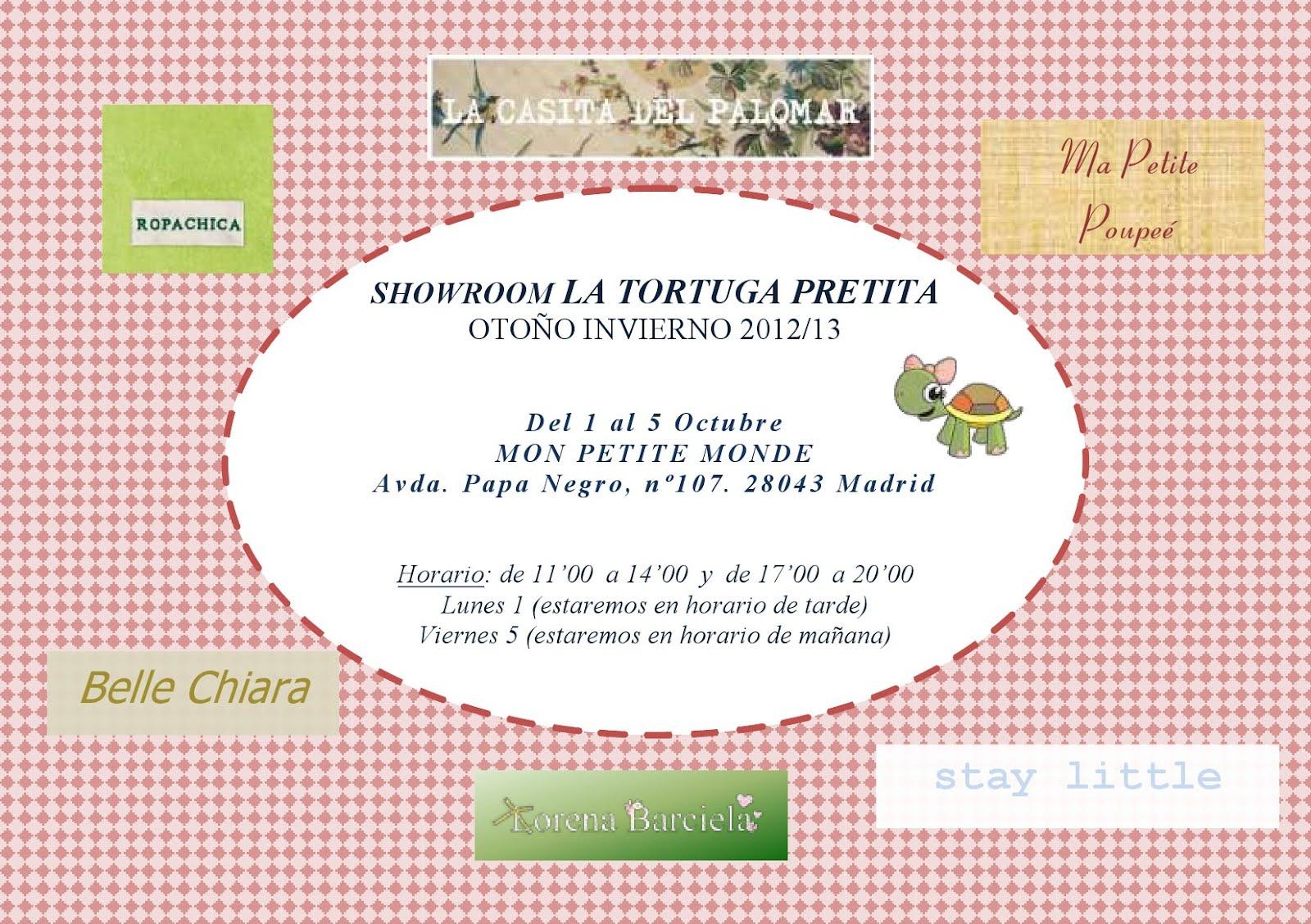 Invitación Showroom Moda Infantil