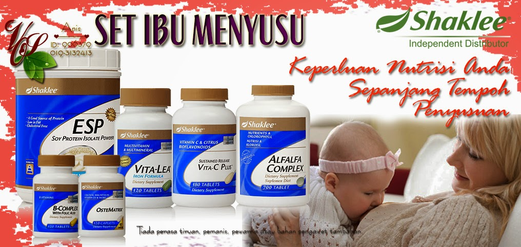 Supplemen Ibu Menyusu