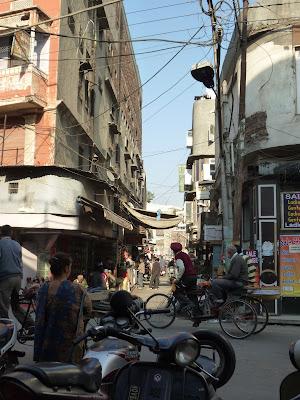 trafico-india-rickshaw