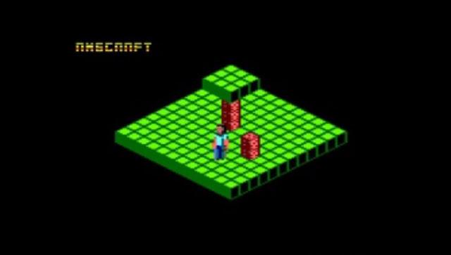 AmsCraft es un nuevo juego en desarrollo para Amstrad CPC fuertemente inspirado en Minecraft