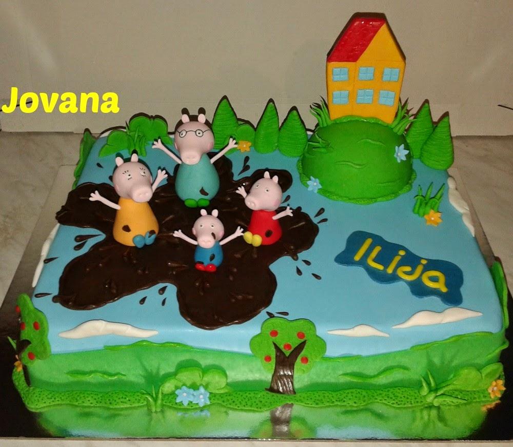 Torte jojini isprobani recepti cokoladna torta i pepa sa porodicom za malenog iliju thecheapjerseys Choice Image