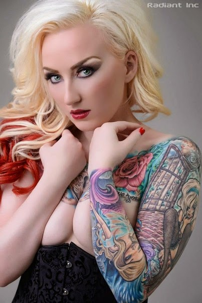 World's Tattoo Girl, B...