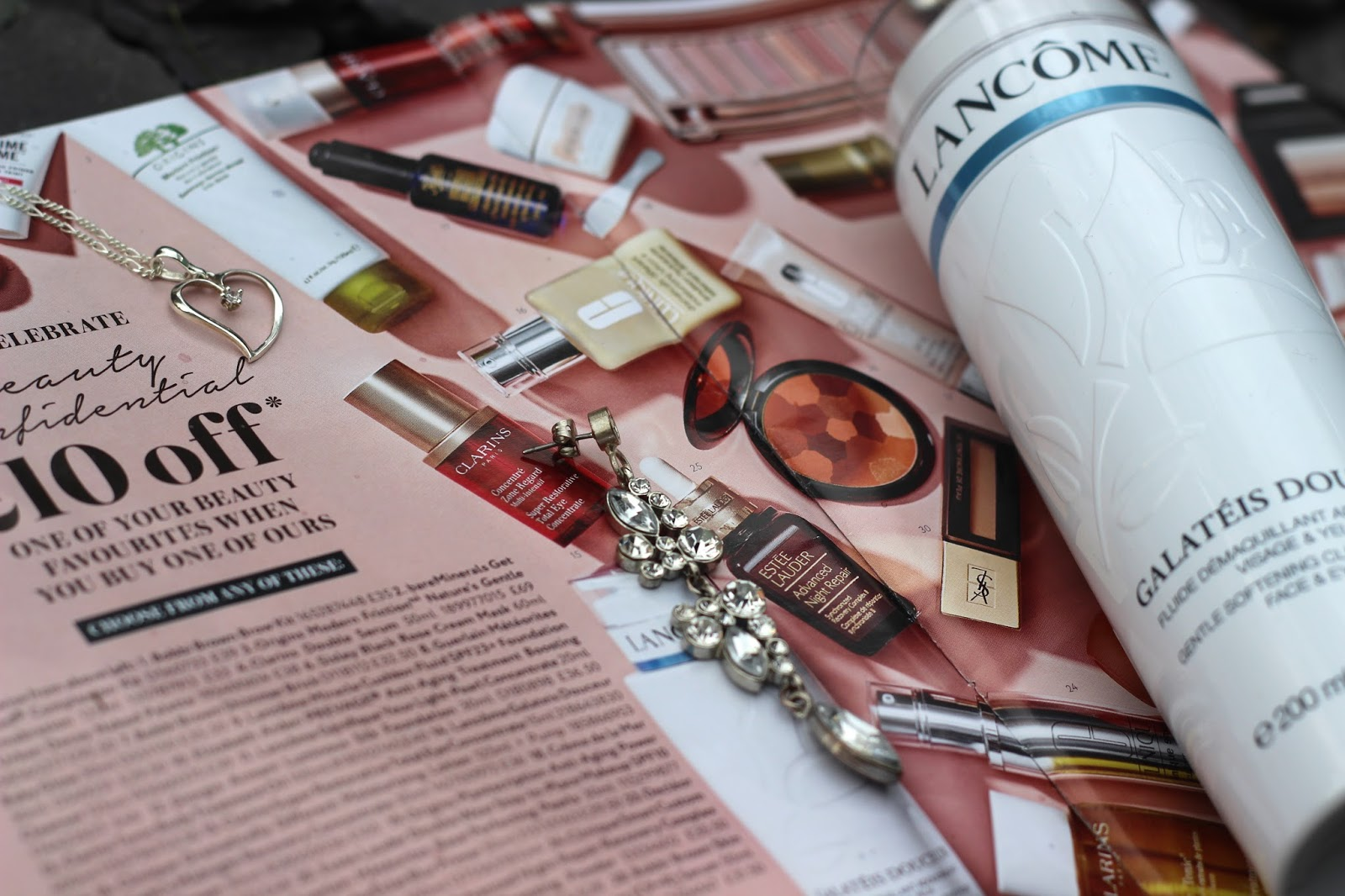 House of Fraser beauty confidential offer with Lancôme Galatéis Douceur