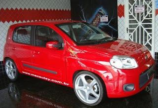 Foto Novo Fiat Uno Tuning