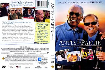 Antes De Partir DVD Capa