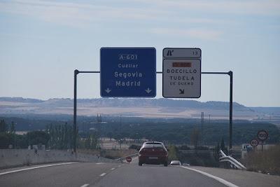 Valladolid Madrid, Autovia de los pinares
