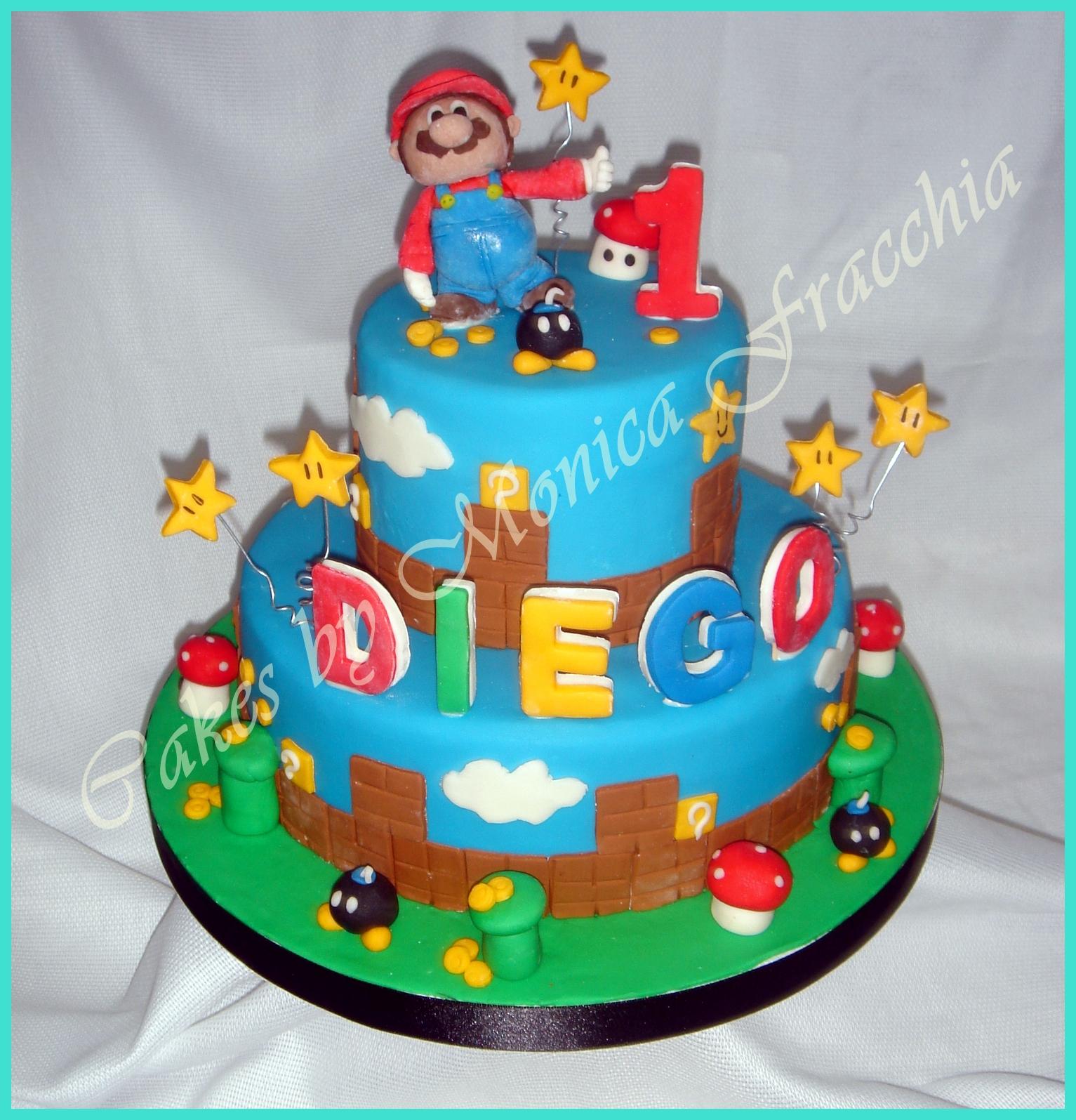 Pasteles De Mario Bros