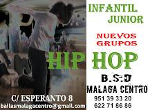 CURSO DE HIP HOP PARA NIÑOS Y JOVENES EN BSD BAILAS MÁLAGA CENTRO.