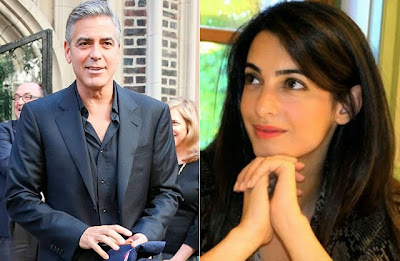 George Clooney Amal Alamuddin hot