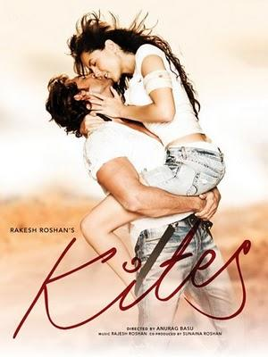 Poster Of Hindi Movie Kites (2010) Free Download Full New Hindi Movie Watch Online At worldfree4u.com