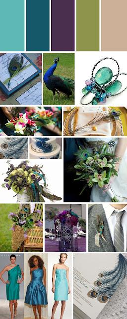 Loosh Creations Peacock Inspired Wedding