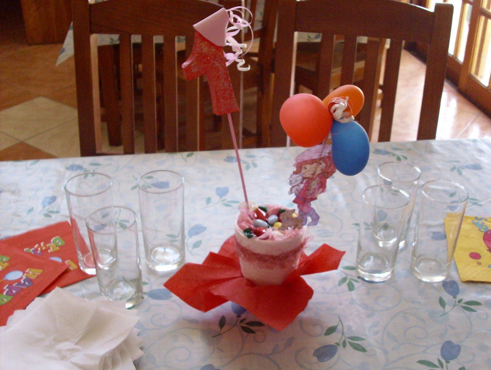 Juanita creaciones y ambientaciones centro de mesa - Mesas cumpleanos infantiles ...
