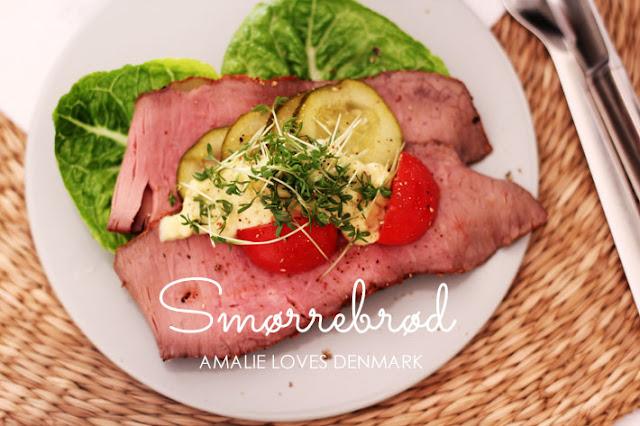 Amalie loves Denmark Smørrebrød