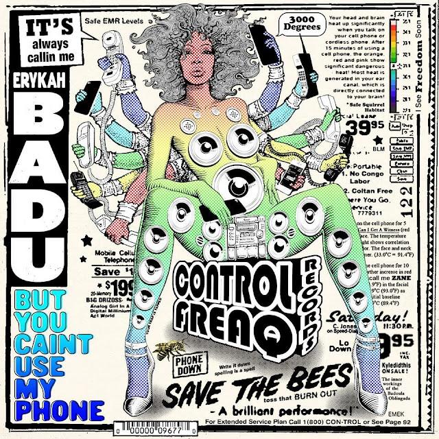 Nova mixtape da Erikah Badu esta disponível para audição