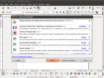 LibreOffice 4.2.0 RC1 image by LibreOffice - softwikia