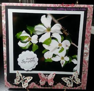 sympathy card dogwood flower boston marathon