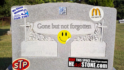 Advertising by Headstone.com