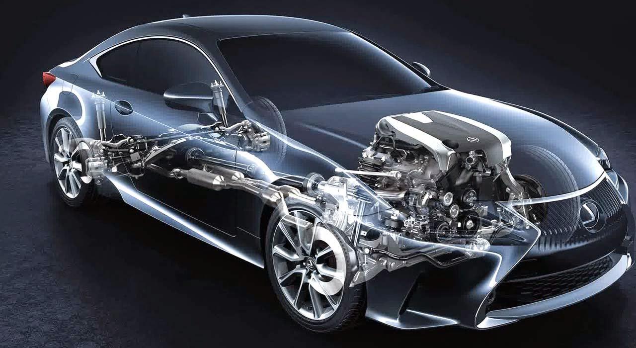 2015 Lexus RC Coupe Engine