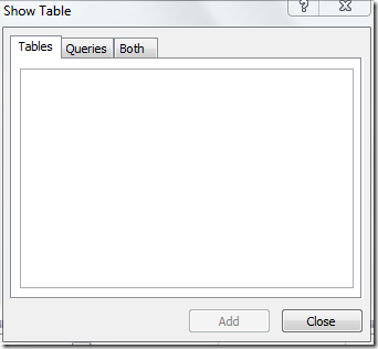 Anak rantau create tables in access 2010 using sql commands for Table design view in access 2010