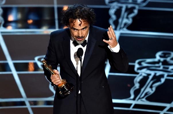Alejandro González Iñárritu y su Óscar