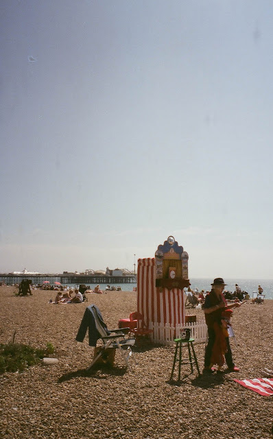 Brighton Pier Beach UK