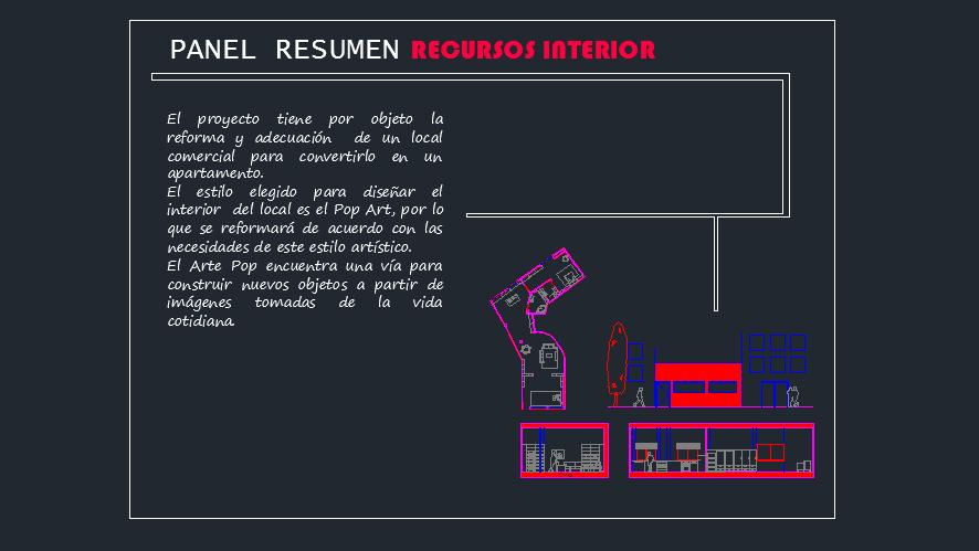Diseñar un panel resumen con Autocad. Parte 1 - Recursos Interior ...