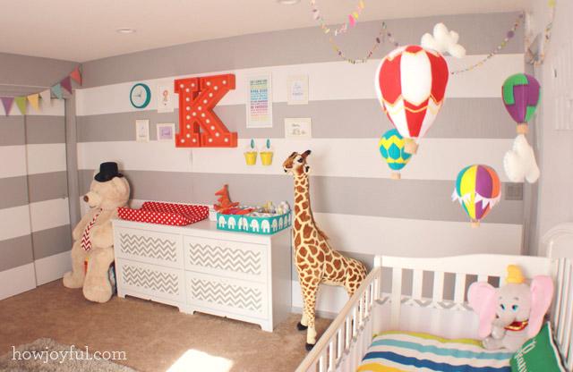 Circus Gender Neutral Nursery