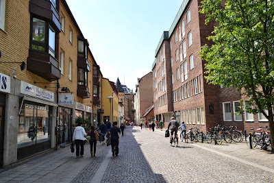 Streets of lund city