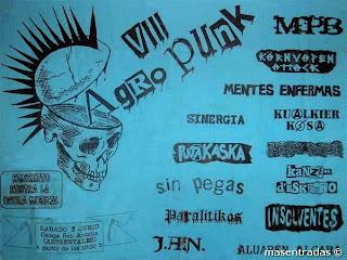 entrada festival agro punk