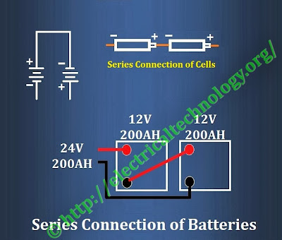Series Connection of Batteries