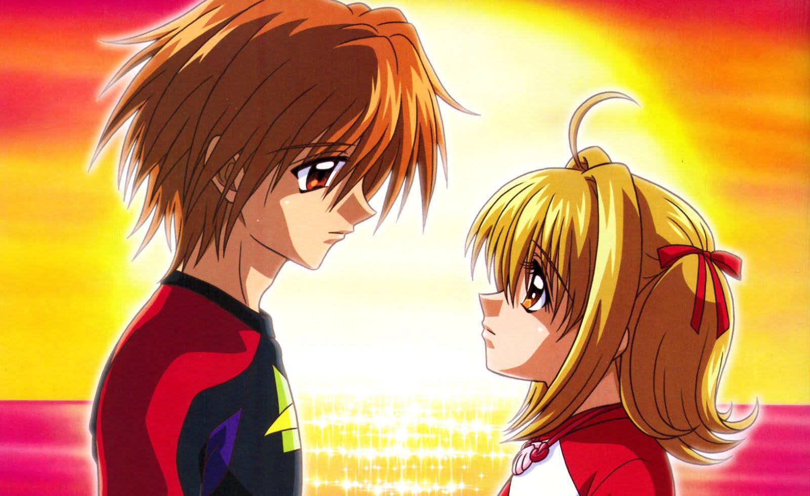 Luchia Nanami y Kaito