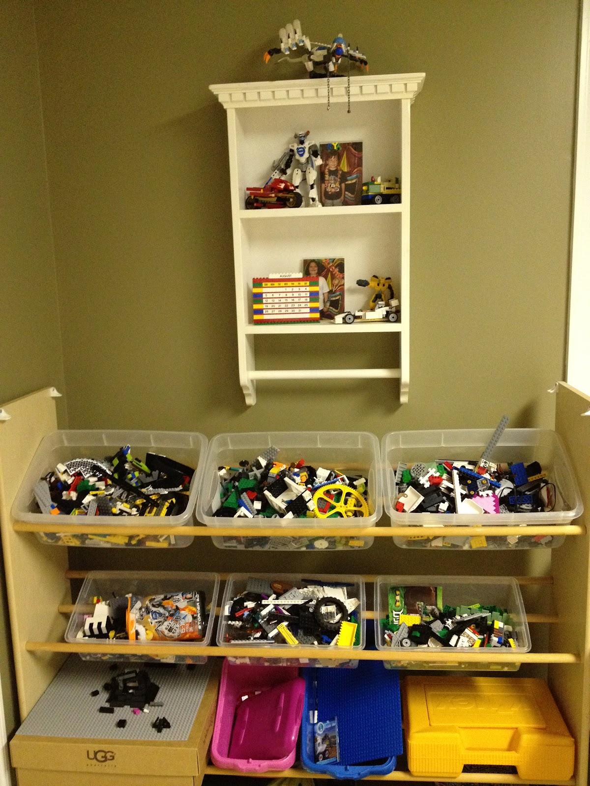 casalupoli create a tiered multi bin toy storage organizer. Black Bedroom Furniture Sets. Home Design Ideas