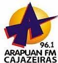 ouvir a Rádio Arapuan FM 96,1 Cajazeiras PB