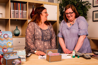 Making a Video -  Bekka and Charlotte from Stampin' Up!